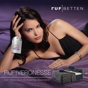 boxspring betten in veronesse betten 2012 von ruf betten. Black Bedroom Furniture Sets. Home Design Ideas