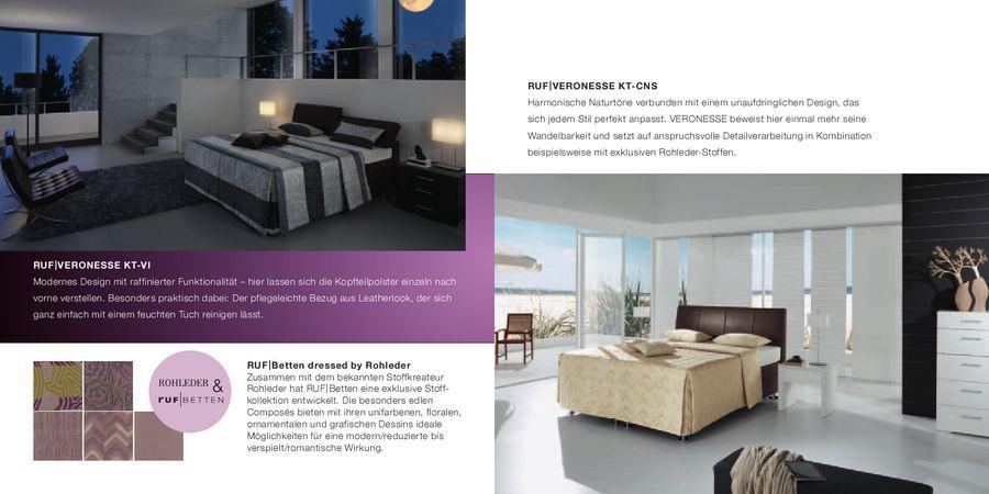 Veronesse Betten 2012 Von RUF