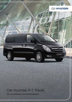 hyundai h 100 in hyundai h 1 travel 2012 von hyundai motor deutschland. Black Bedroom Furniture Sets. Home Design Ideas