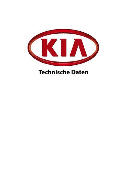 Kia Ceed Daten