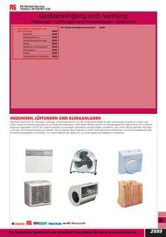 Gerätereinigung und -wartung 2012
