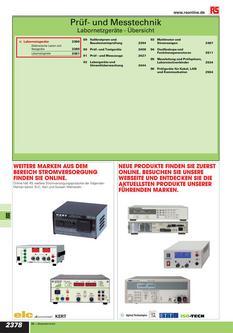 Prüf- und Messtechnik 2012