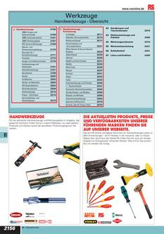 Werkzeuge 2012