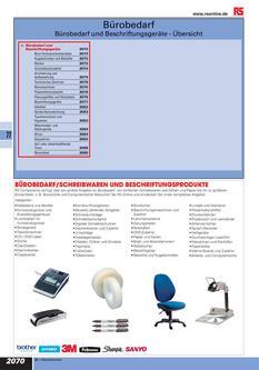 Bürobedarf 2012