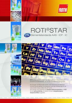 ROTI® STAR Elementstandards AAS · ICP · IC 2012