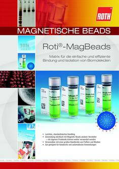 Magnetische Beads - Roti® -MagBeads 2012