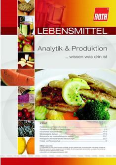 Lebensmittel Analytik & Produktion 2012