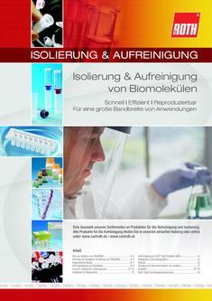 Isolierung & Aufreinigung von Biomolekülen 2012