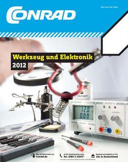 Werkzeug und Elektronik 2012