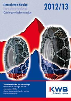 Schneeketten für PKW und Nutzfahrzeuge 2012/2013