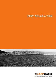 EPIC® SOLAR 4 THIN 2012