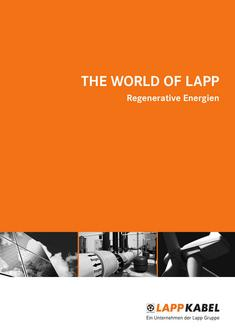 The World of Lapp Regenerative Energien 2012