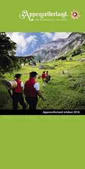 Informationsbroschüre Appenzellerland 2014