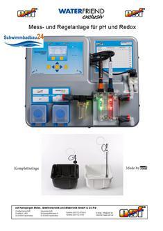 WaterFriend Mess- und Regelanlage für pH und Redox