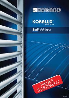 KORALUX - Badheizkörper 2012