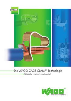 WAGO CAGE CLAMP Verbindungstechnologie