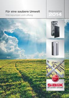 Wärmepumpen und Lüftung Bildpreisliste 2014