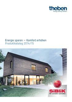 Theben Energie sparen – Komfort erhöhen 2014/2015