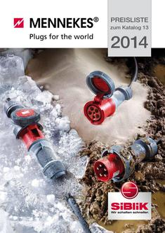 Mennekes Plugs for the world Preisliste 2014