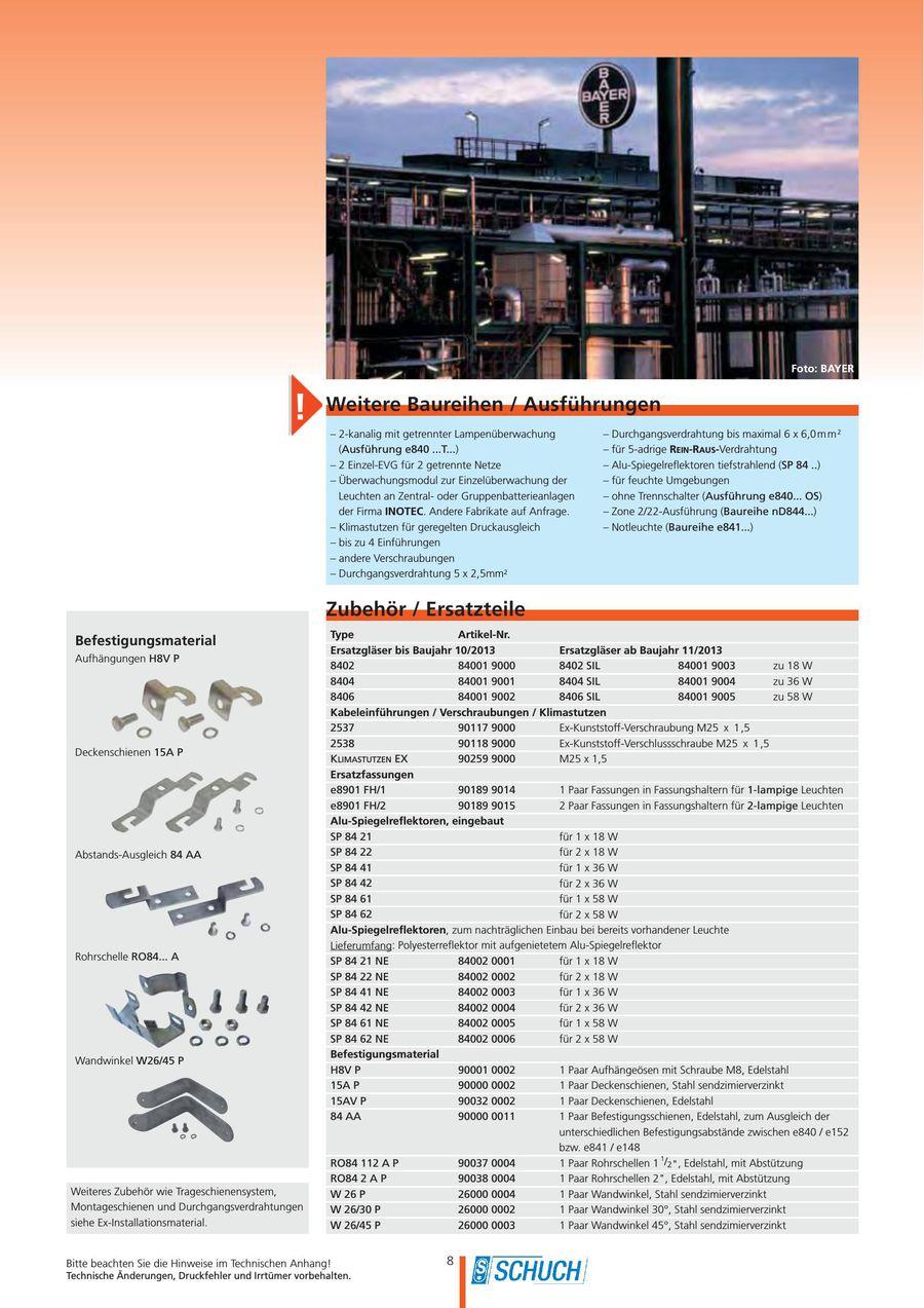 Seite 10 von Schuch Ex- / Feuchtraum- / Industrie- / Außen ...