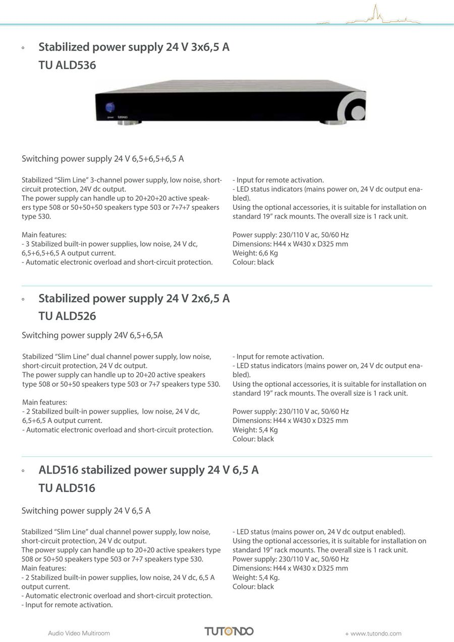 Seite 48 Von Tutondo Home 2017 Low Noise Power Supply For Audio Circuits P 141