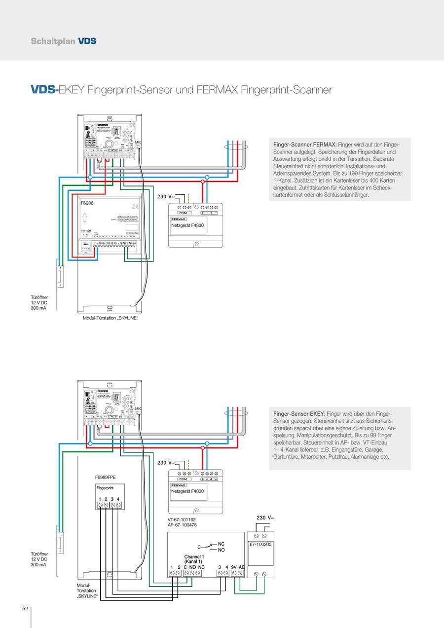 Seite 52 von Fermax VDS Türsprechanlagen digital 2016
