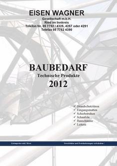 Baukatalog 2012