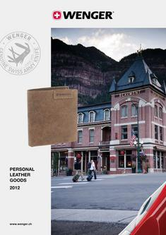 Wenger Personal Leather Goods 2012
