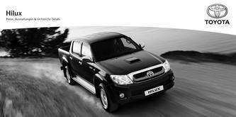Preisliste Toyota Hilux 2013
