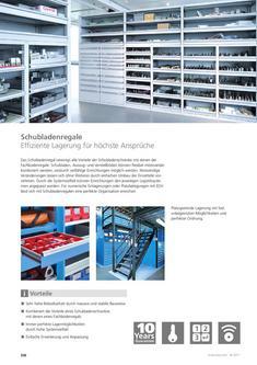 Schubladenregale 2013