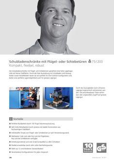 Schubladenschränke m. Flügel- o. Schiebetüren 2013