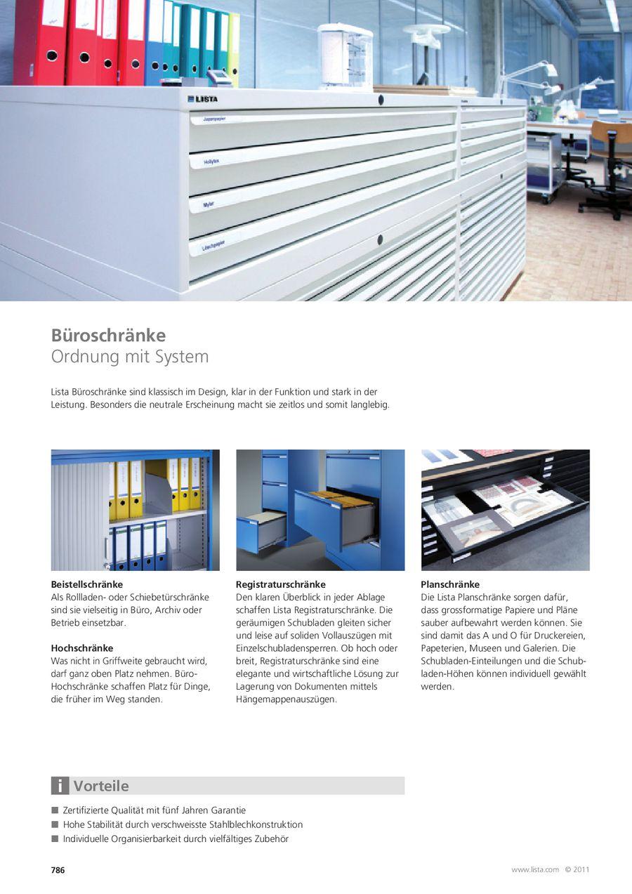 Büroschränke 2013 von Lista