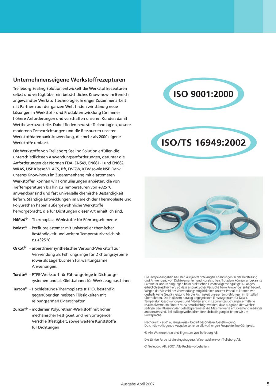 änderung norm iso 3601