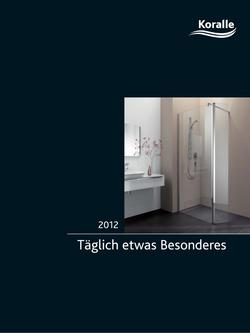 badewanne trennwand in koralle duschabtrennungen bade und duschwannen 2012 von reuter onlineshop. Black Bedroom Furniture Sets. Home Design Ideas