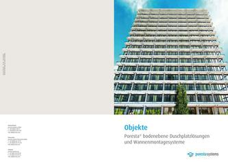 PorestaSystems Objektbroschuere 2014