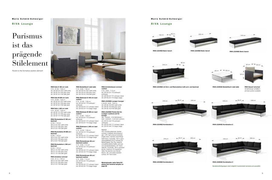 Conmoto Gartenmöbel & Feuerstellen 2012 von Reuter Onlineshop