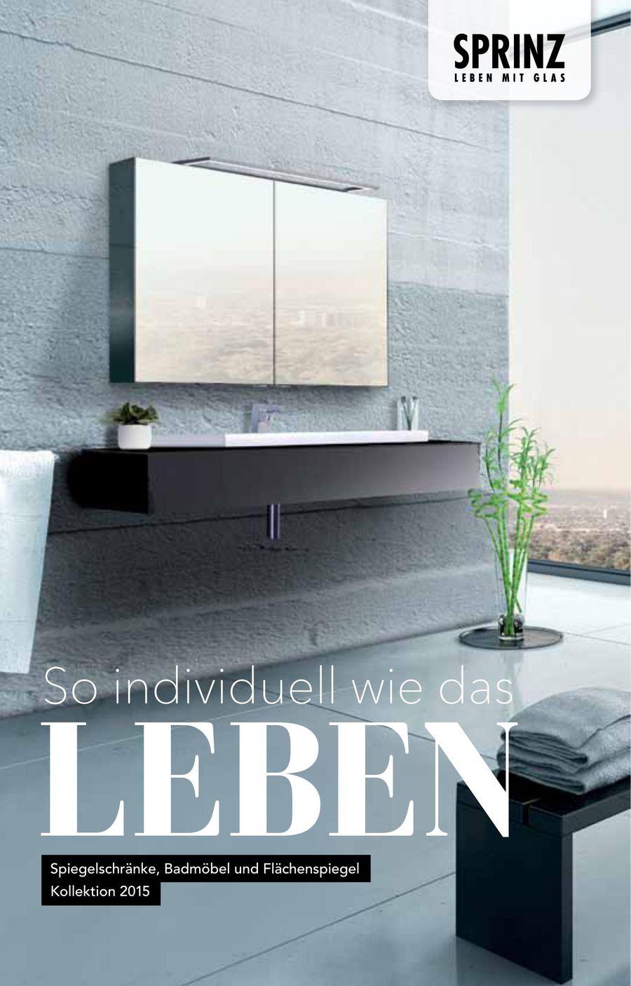 Sprinz Spiegelschränke von Reuter Onlineshop