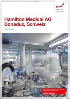 Referenzbroschüre Hamilton Medical 2017