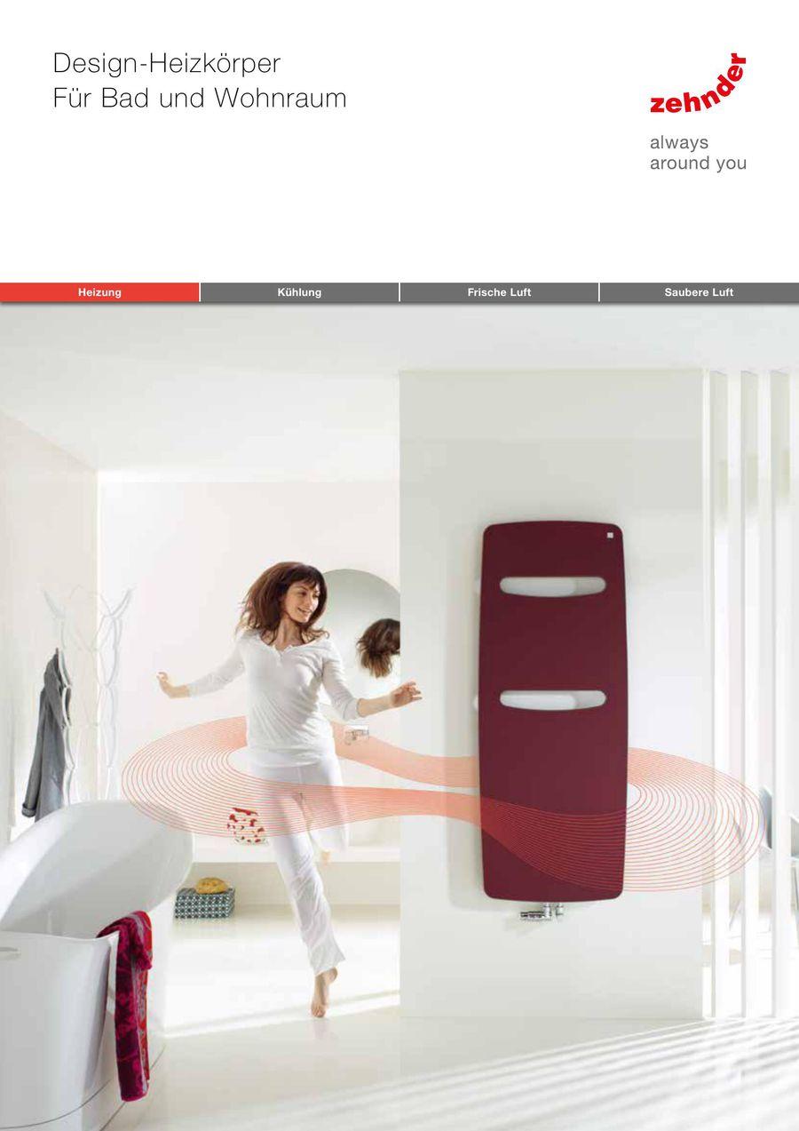 Design-Heizkörper 2017 von Zehnder Group Deutschland