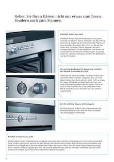 Einbaugeräte zum Kochen und Backen 2009/2010