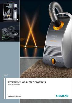 Consumer Products 2010