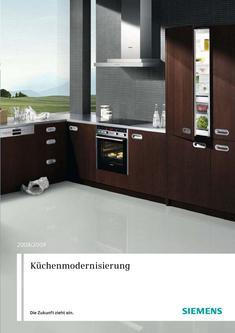 Küchenmodernisierung Teil 1 2008/2009