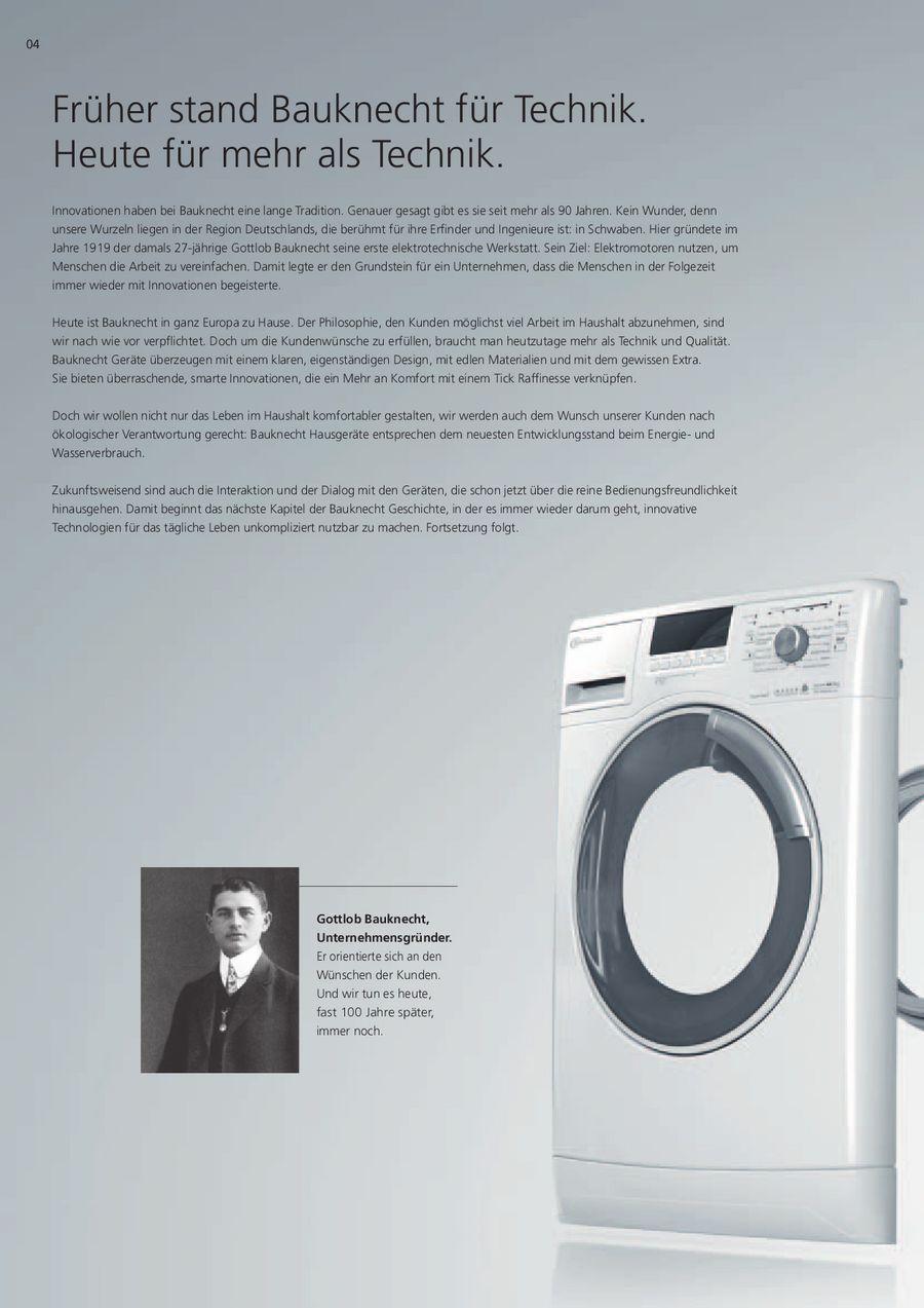 Waschmaschinen Und Trockner 2013 2014 Von Bauknecht Osterreich