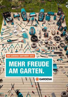 Das GARDENA Sortiment 2013 - Mehr Freude am Garten