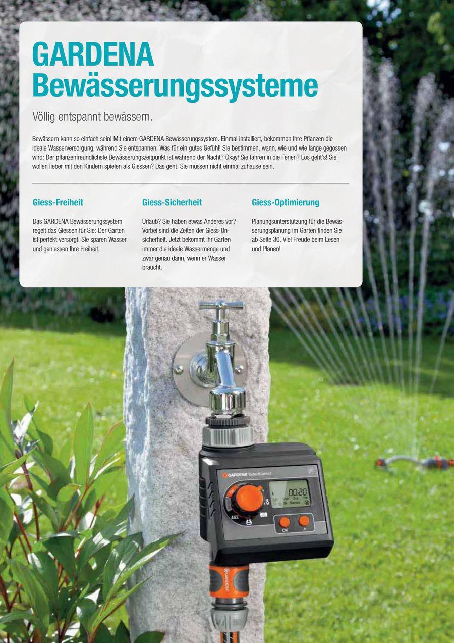 Automatische Bewasserungssysteme 2018 Von Gardena