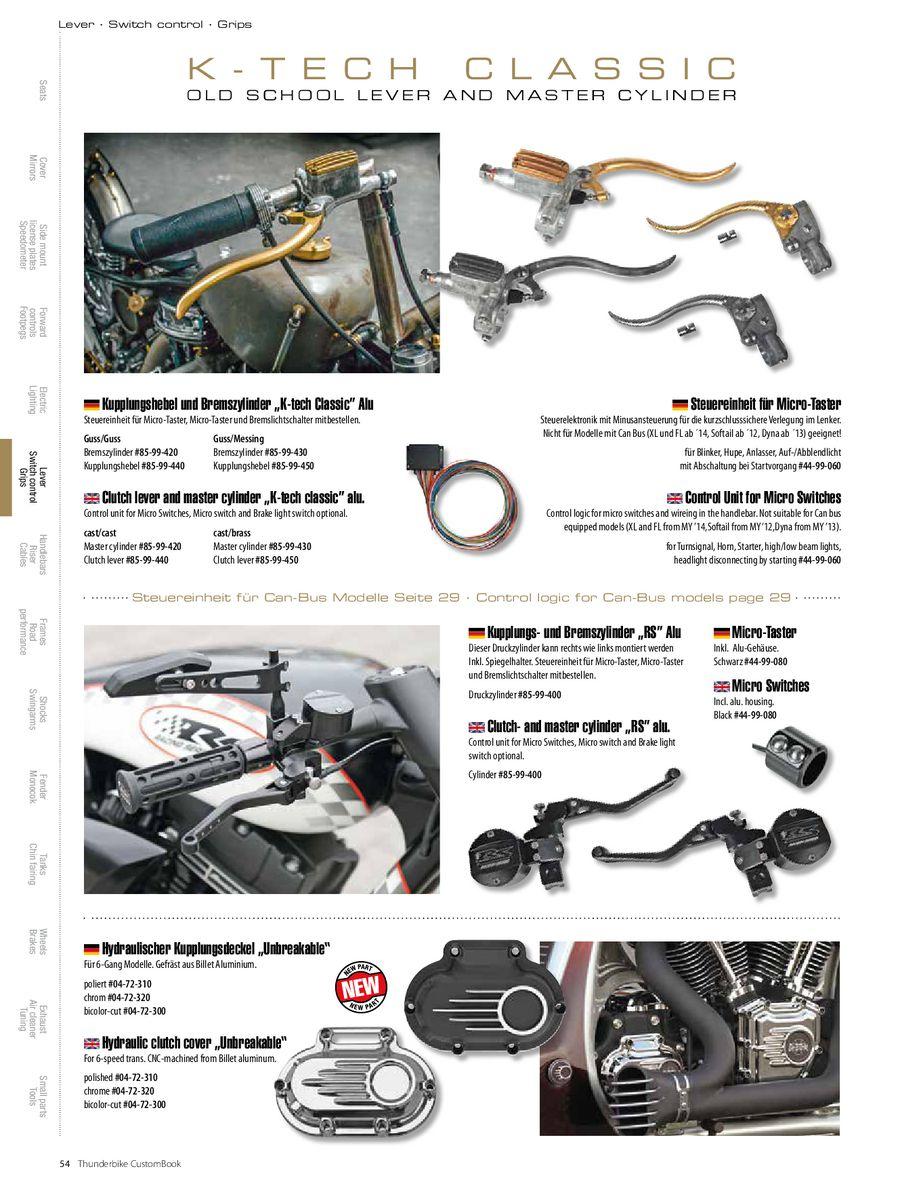 Seite 56 von Custom Book 3 Zubehör für Harley-Davidson und Custombikes