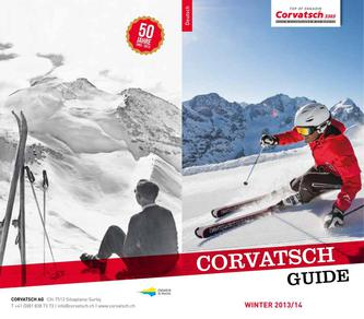 Corvatsch Guide Winter 2013