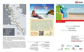 Flyer Amrum Foehr Bahn 2014