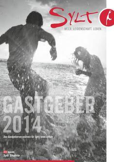 Gastgeberverzeichnis Insel Sylt gesamt 2014