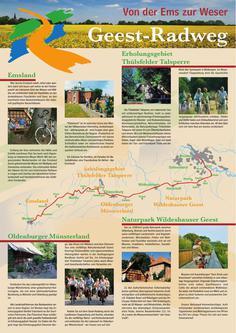 Geest-Radweg-Routenbeschreibung 2014